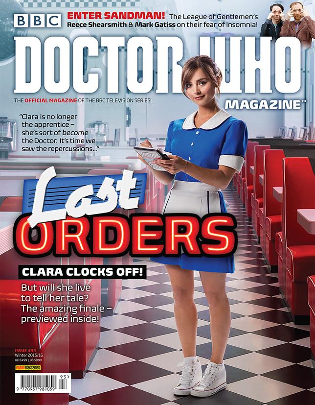 Doctor Who Magazine 493 Doctor Who Magazine