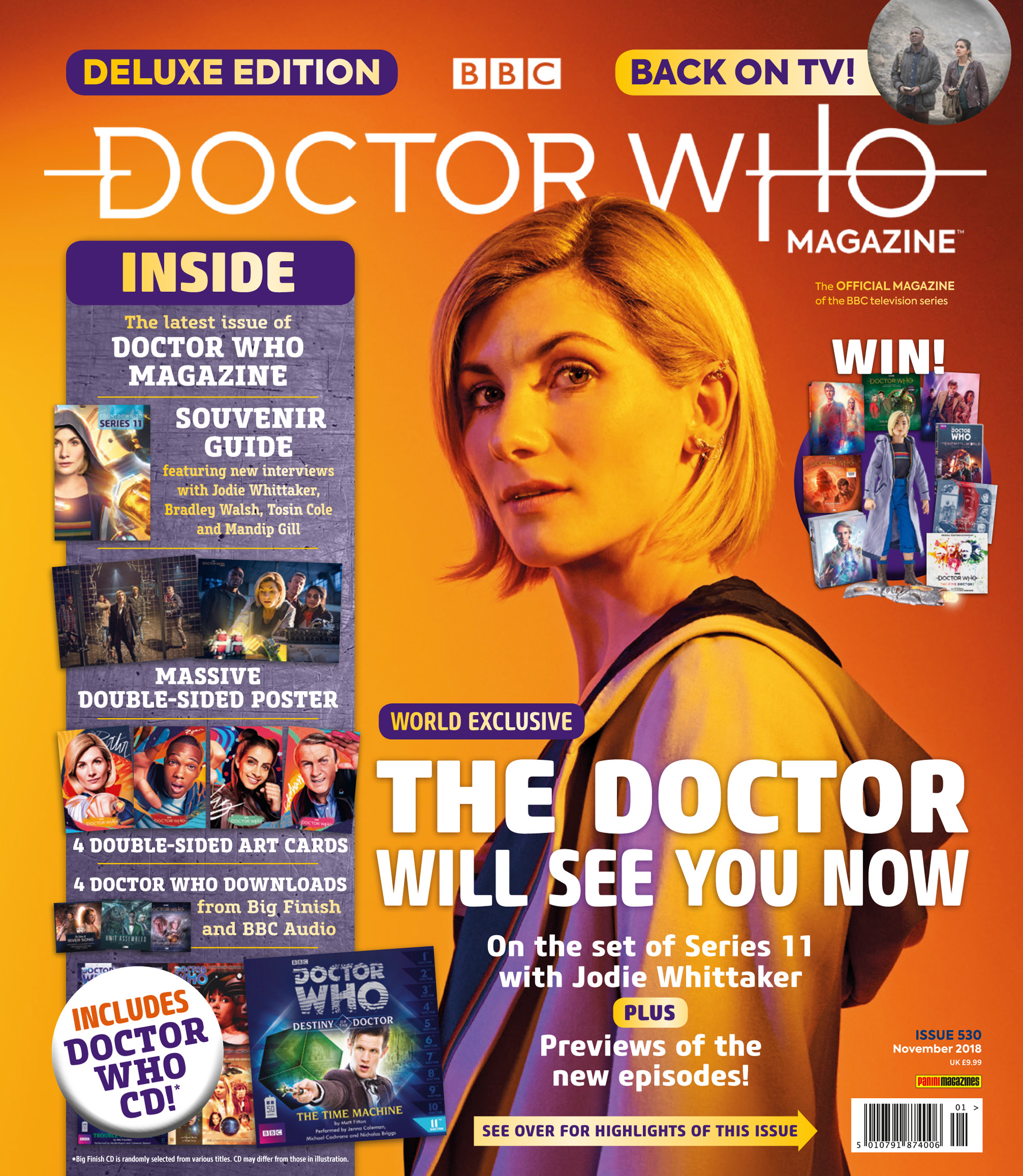 DOCTOR WHO MAGAZINE 530 – Doctor Who Magazine