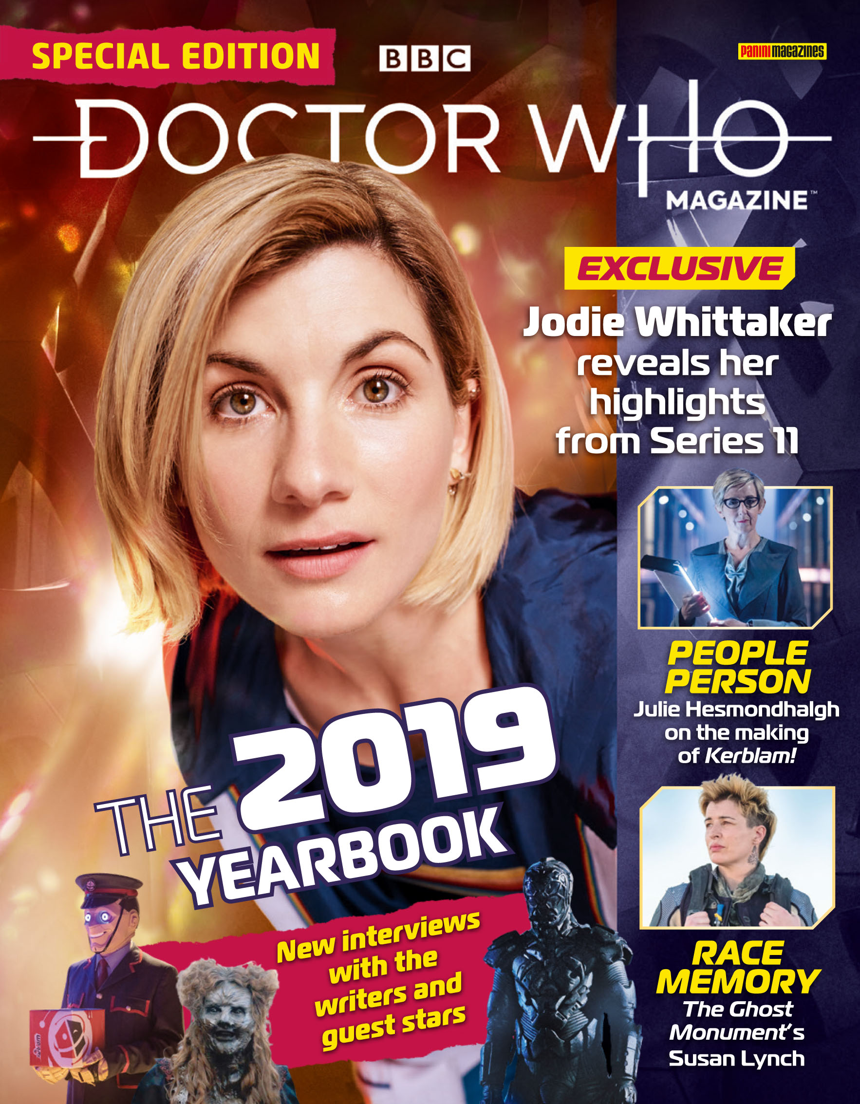 Dr Who Christmas Special 2019.Doctor Who Magazine Special The 2019 Yearbook Doctor Who