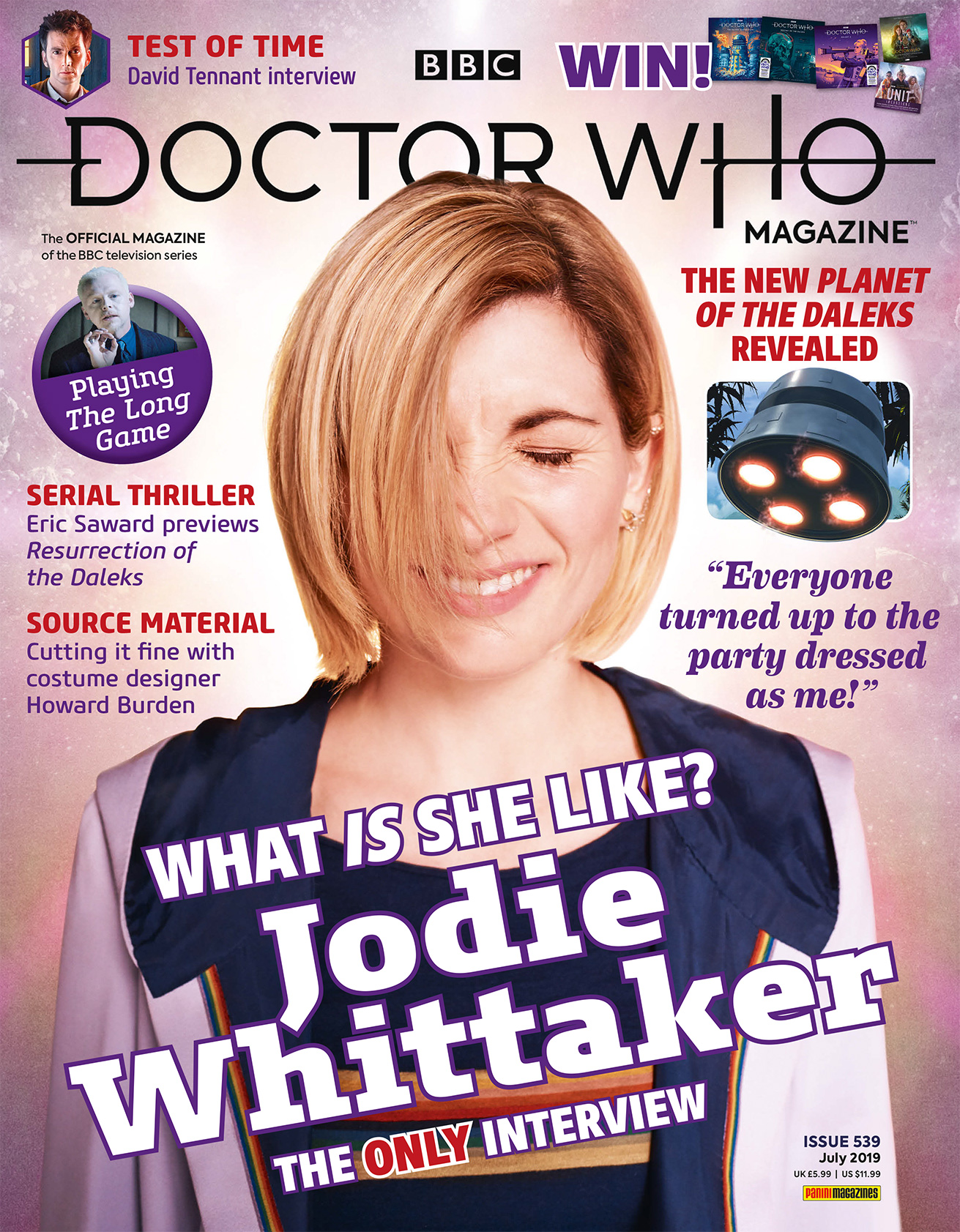 Dr Who Christmas Special 2019.Doctor Who Magazine 539 Doctor Who Magazine
